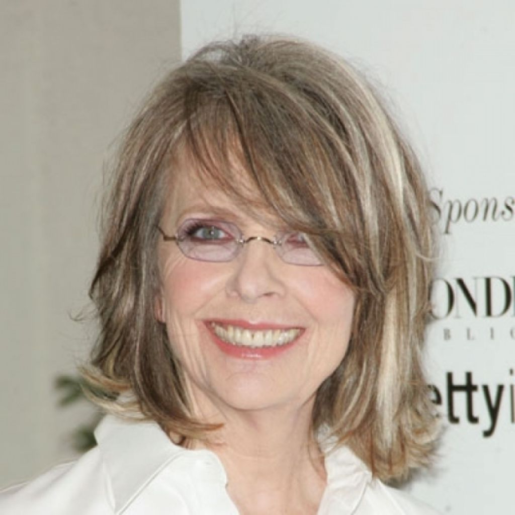 Trendy Medium Haircuts For Glasses Pertaining To Medium Length Hairstyles With Glasses For Women Over  (View 19 of 20)