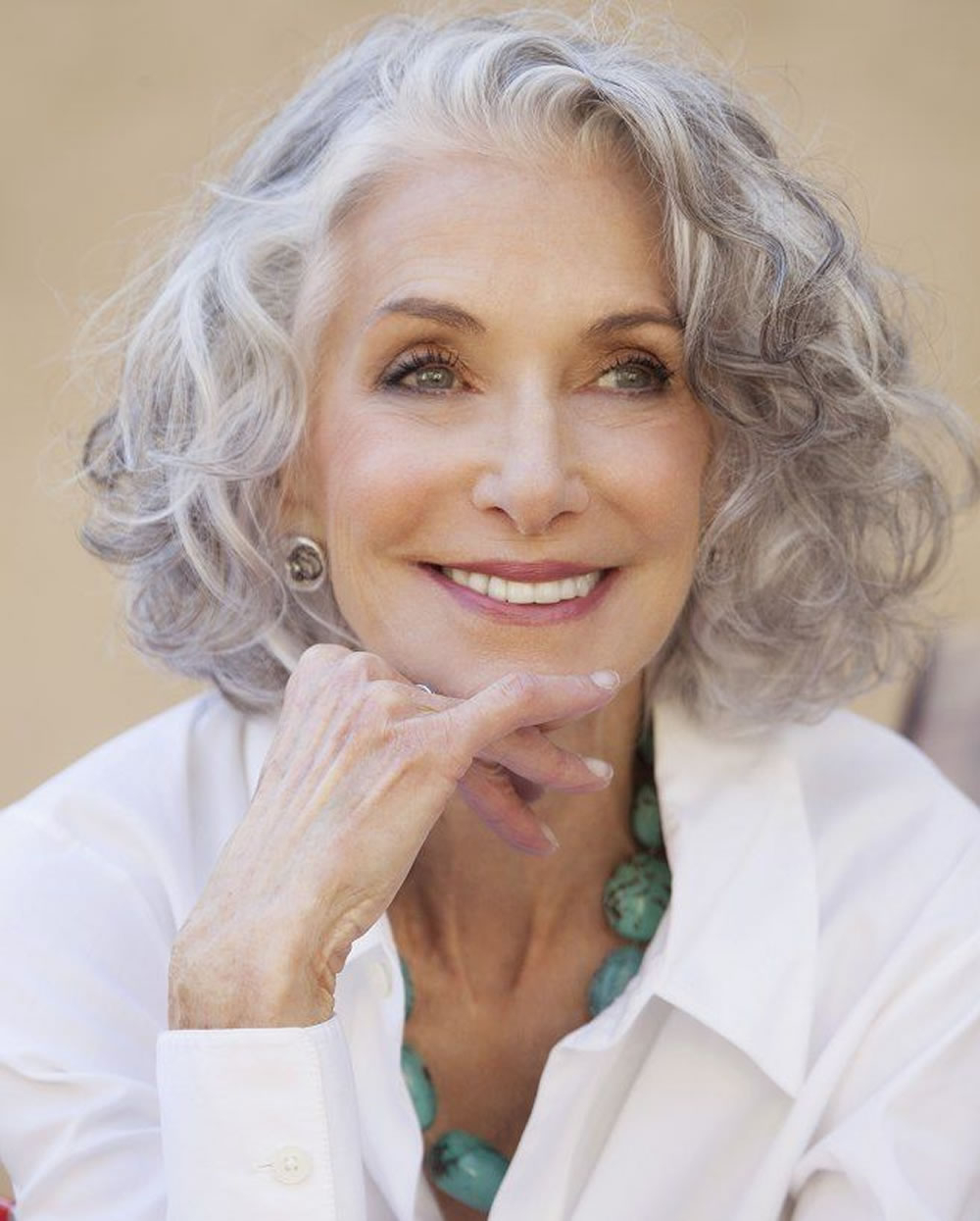 Trendy Medium Haircuts For Grey Hair Throughout Short Gray Hairstyles For Older Women Over 50 – Gray Hair Colors (View 6 of 20)