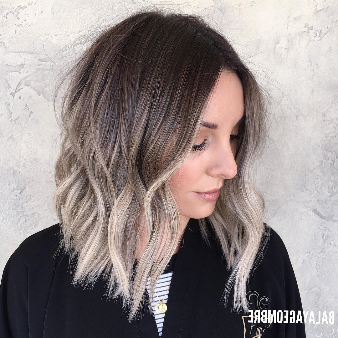 Trendy Medium Haircuts For Grey Haired Woman Regarding 10 Best Medium Hairstyles For Women – Shoulder Length Hair Cuts  (View 20 of 20)