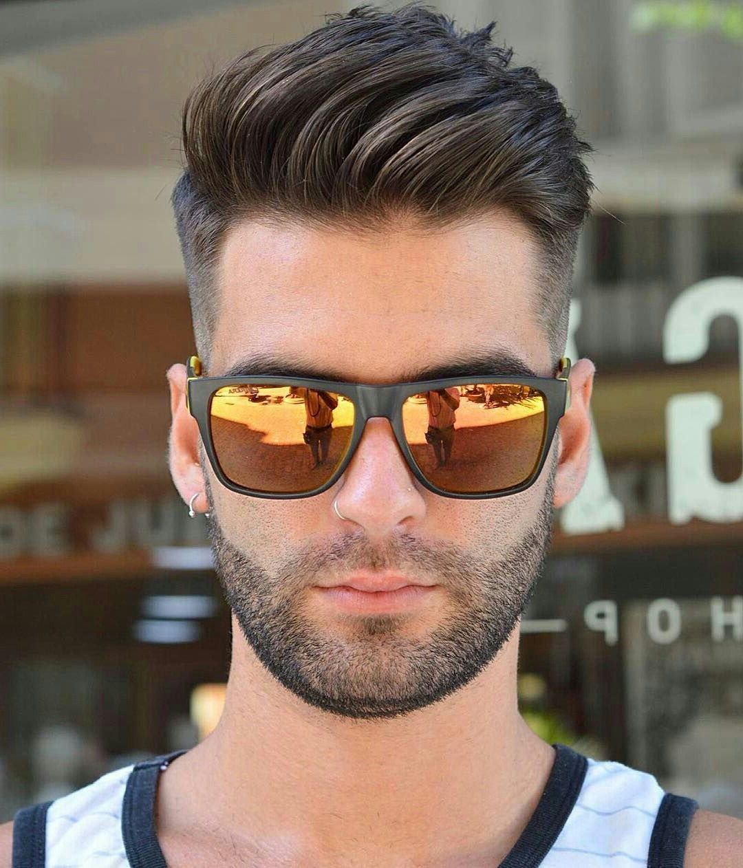 Trendy Medium Haircuts For People With Glasses With Glasses (View 7 of 20)