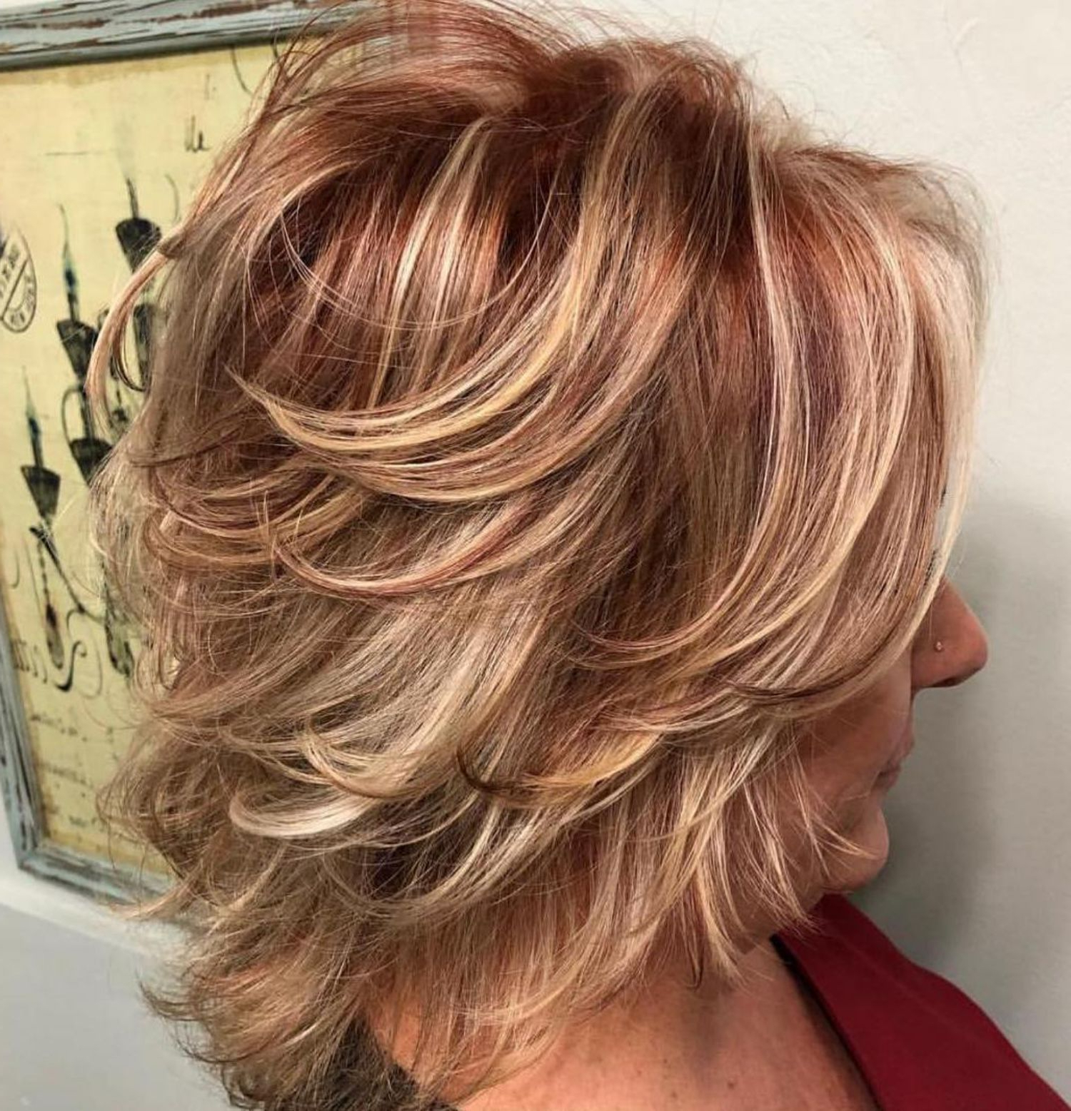 Trendy Medium Haircuts Styles With Layers In 80 Best Modern Haircuts And Hairstyles For Women Over 50 In  (View 16 of 20)