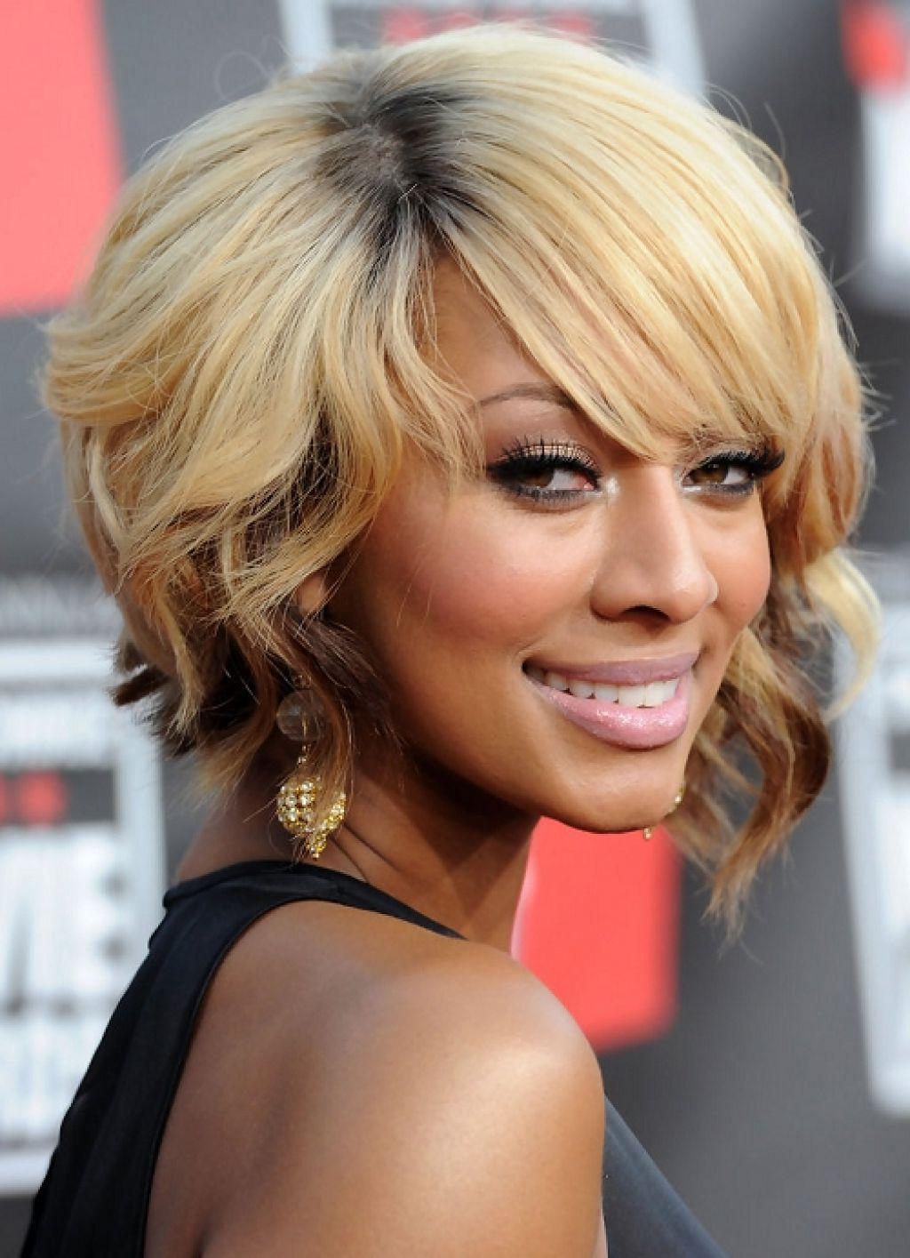 Trendy Medium Hairstyles For African American Women With 5 Hottest Medium Blonde Hairstyles For African American Women (View 16 of 20)