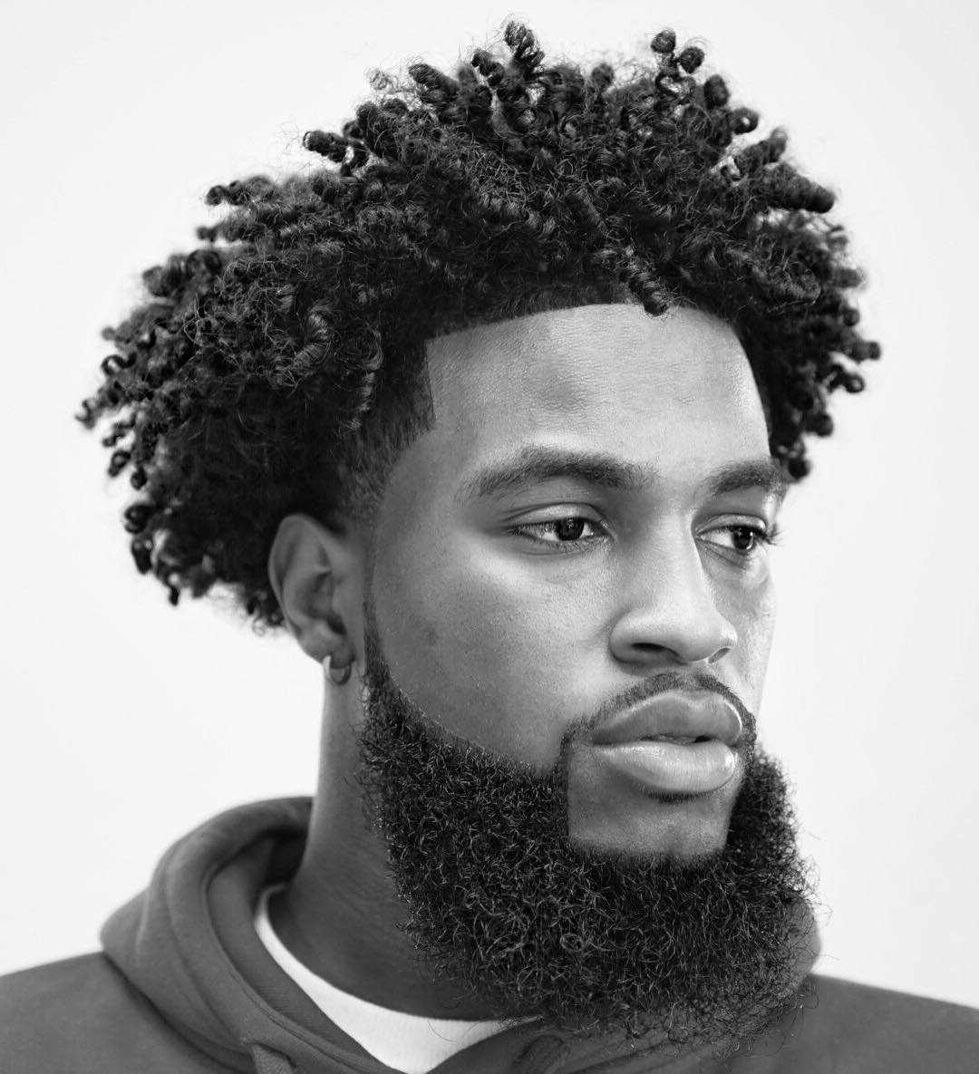 Trendy Medium Hairstyles For Afro Hair Inside Cool Haircuts For Black Men (View 18 of 20)