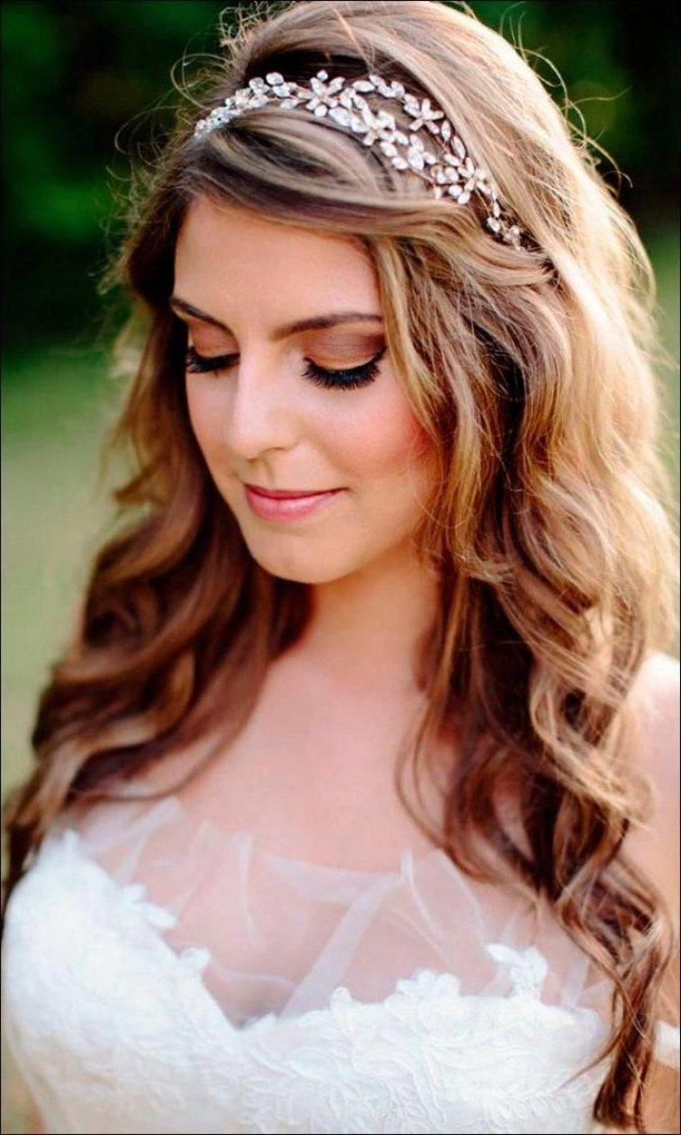 Trendy Medium Hairstyles With Headband Intended For Wedding Hairstyles Wedding Hairstyles For Medium Hair In Simple (View 19 of 20)