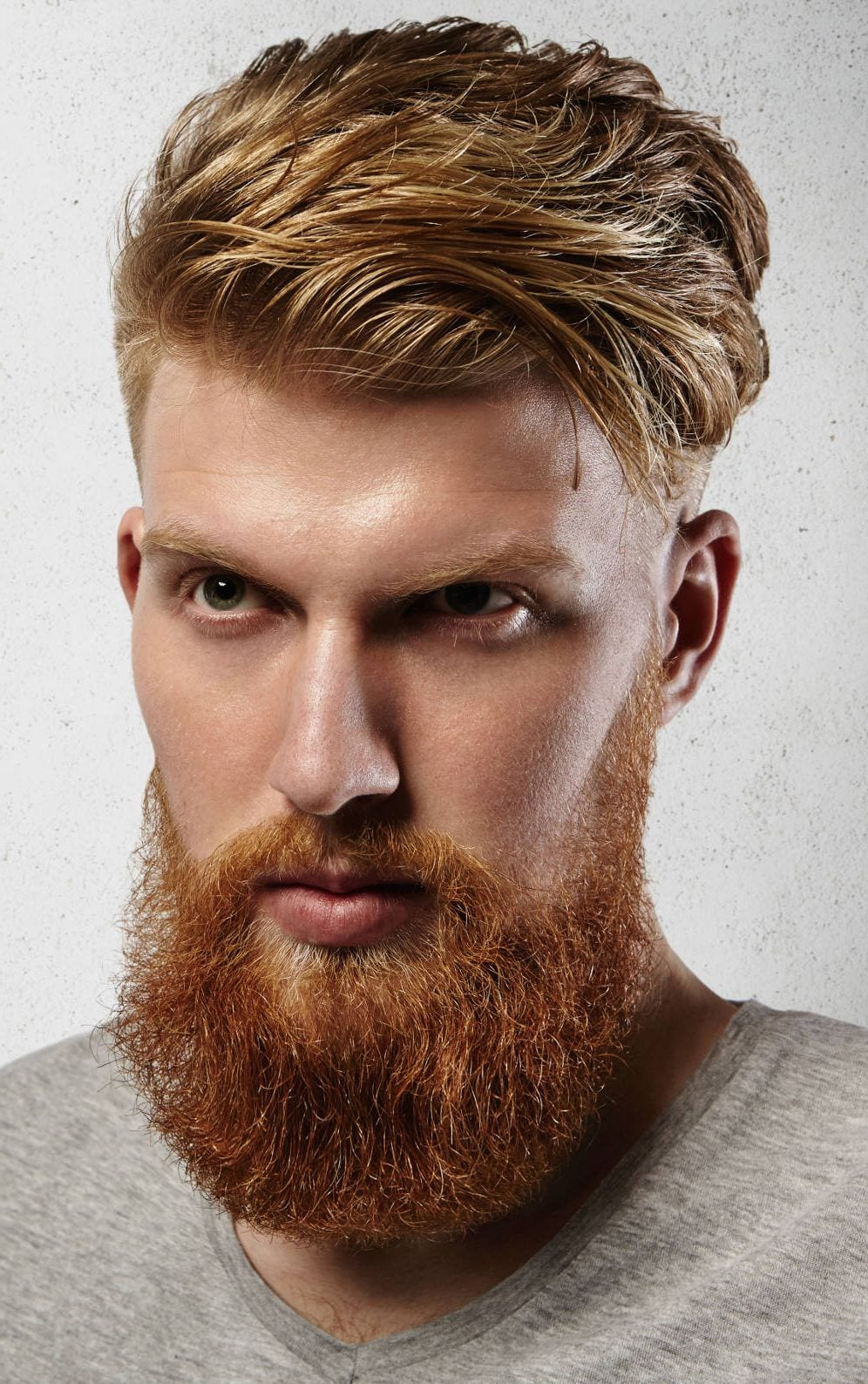 Trendy Medium Hairstyles With Red Hair With 21 Eye Catching Red Hair Men's Hairstyles (Ginger Hairstyles) (View 19 of 20)