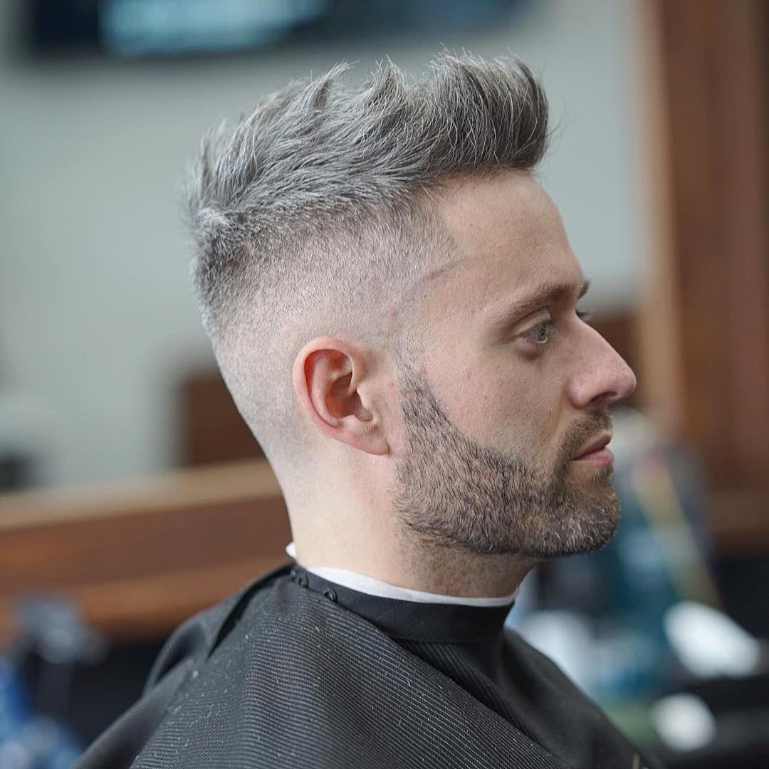 Trendy Platinum Fauxhawk Haircuts Inside 35+ Faux Hawk Fade 2019 Best Mens Haircuts Updated Gallery (View 18 of 20)