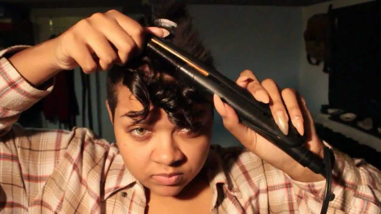 Trendy Retro Curls Mohawk Hairstyles Regarding Curled Mohawk Hair Tutorial – Youtube (View 18 of 20)