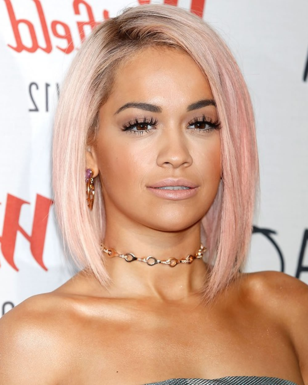 Trendy Rita Ora Medium Hairstyles In Rita Ora's Short Hairstyles (Pixie + Bob) For 2018 (Gallery 6 of 20)