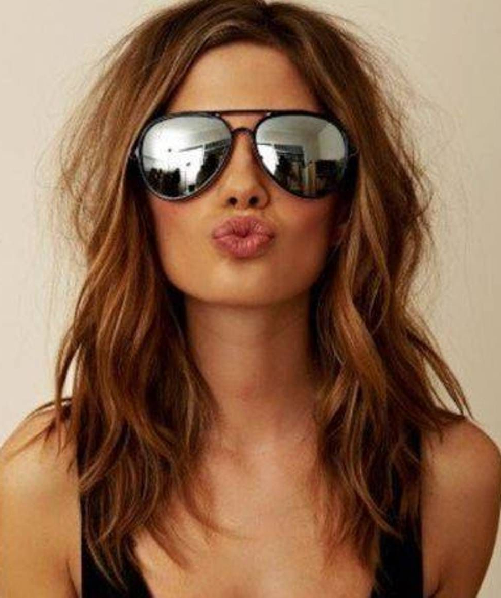 Trendy Summer Medium Hairstyles In Summer Hairstyles Shoulder Length Hair: Versatile Hairstyles (View 17 of 20)