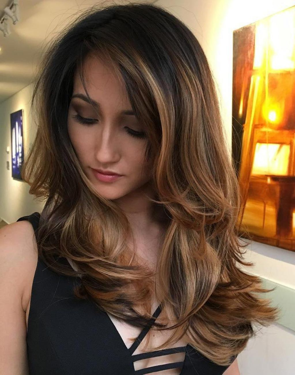 Trendy Thick Wavy Medium Haircuts Intended For √ 24+ Nice Hairstyles For Thick Coarse Wavy Hair: Medium Hairstyles (View 18 of 20)