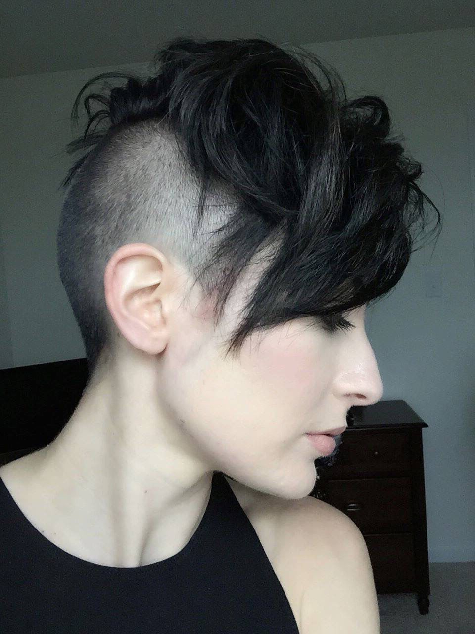 Undercut And Buzzed Pixie Cuts (Gallery 2 of 20)
