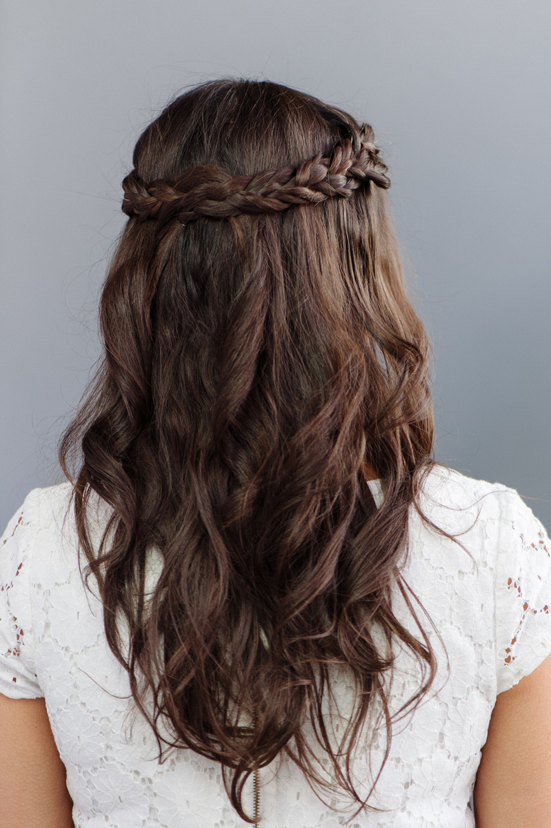 Wedding Hairstyles : Bridesmaid Hairstyle For Long Hair Half Updos With Best And Newest Medium Hairstyles Bridesmaids (View 18 of 20)