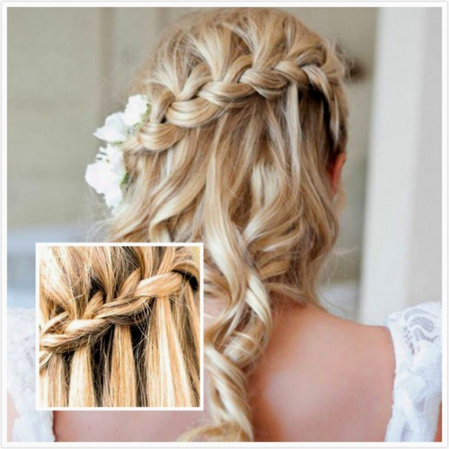 Wedding Hairstyles : Indian Wedding Hairstyles For Medium Length Within Newest Medium Hairstyles Half Up (View 17 of 20)