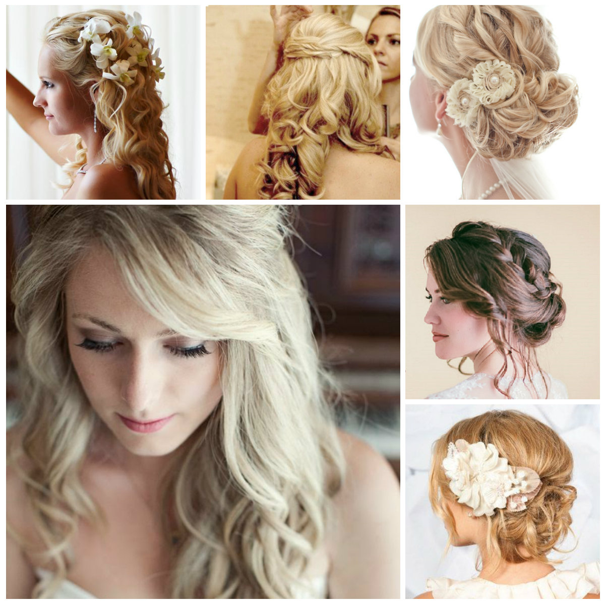 Wedding Hairstyles – Trendy Hairstyles 2019 For Long, Medium And For Preferred Medium Hairstyles For Brides (View 16 of 20)