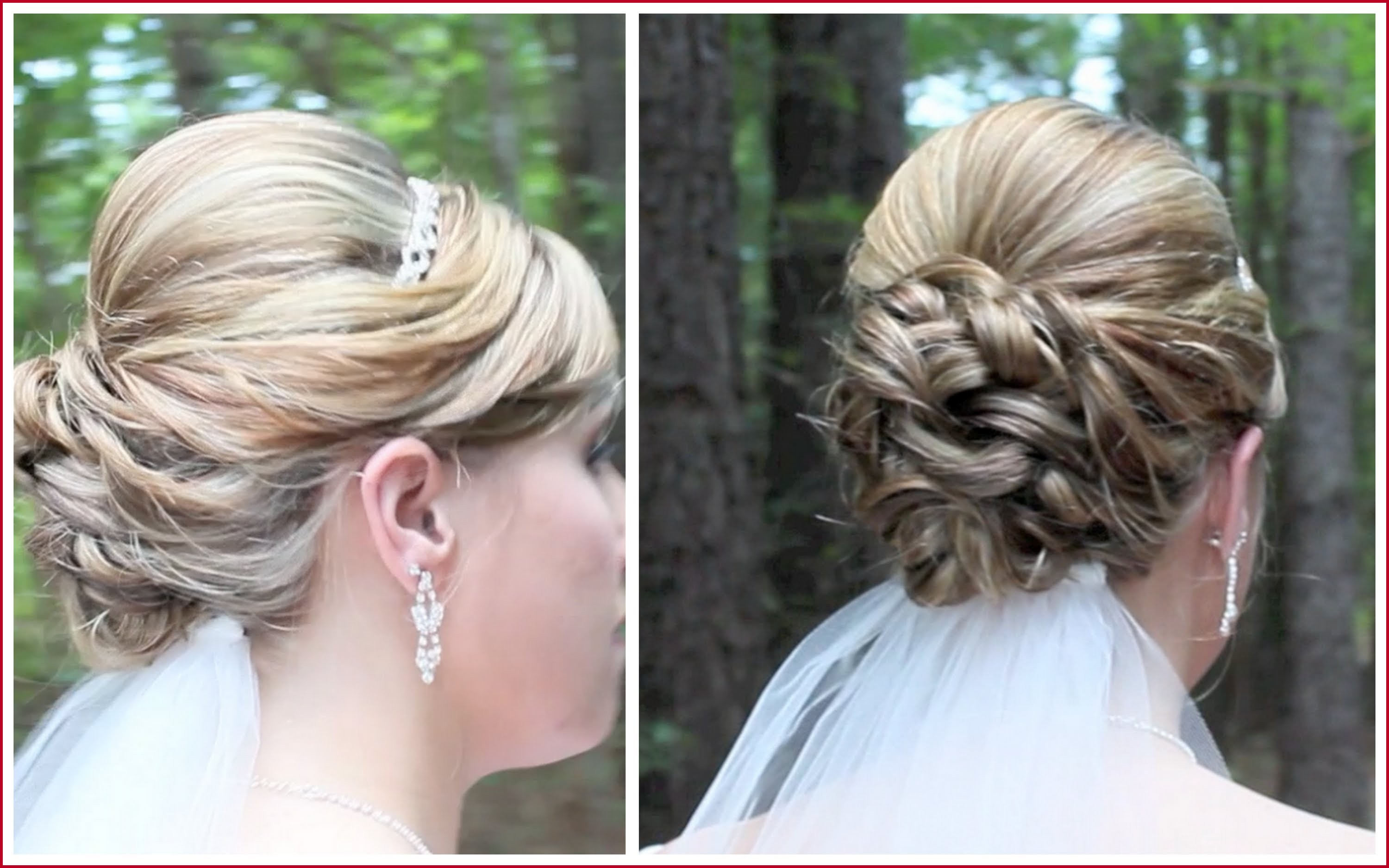 Wedding Medium Length Hairstyles 311025 Bridal Updo On Shoulder Throughout Famous Wedding Medium Hairstyles (View 17 of 20)