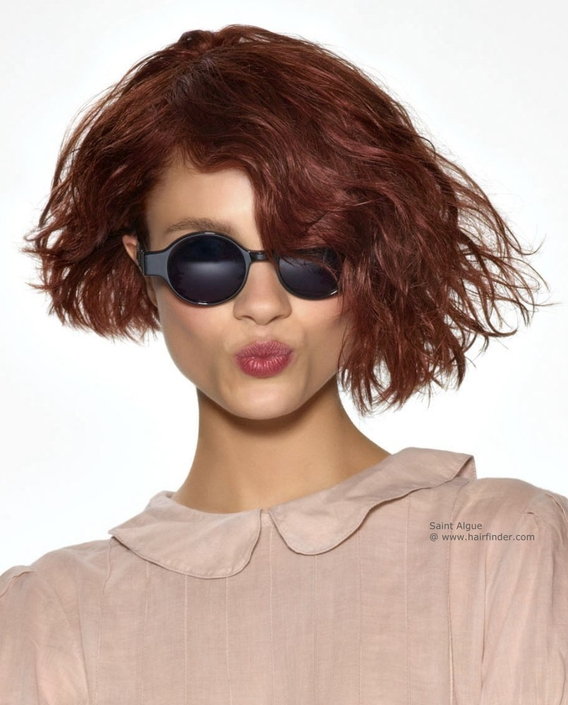 Well Known Asymmetric Medium Haircuts Within Short Haircut Styles : Asymmetrical Short Haircut Coloured Short (View 15 of 20)