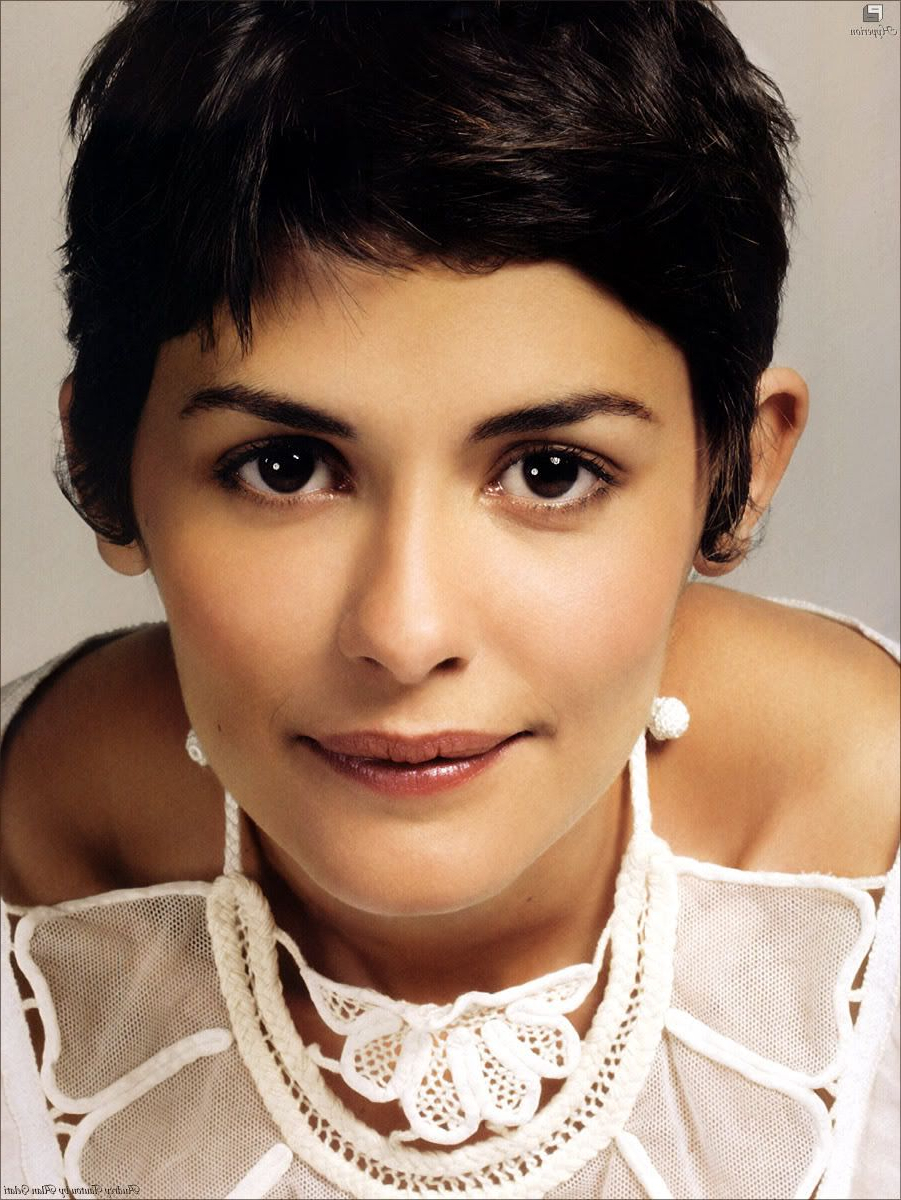 Well Known Audrey Tautou Medium Haircuts Within Audrey Tautou Rocks All Lengths Of The Pixie Cut, In A Perfect (View 11 of 20)