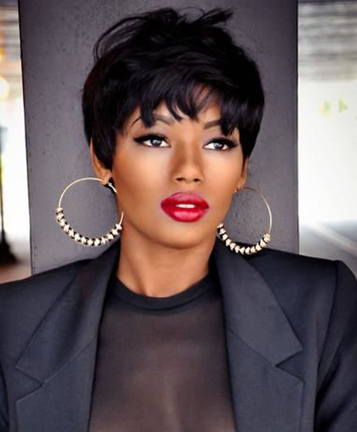 Well Known Black Women With Medium Hairstyles Regarding Short, Medium And Long Hair Ideas & Hairstyles For Black Women (View 15 of 20)