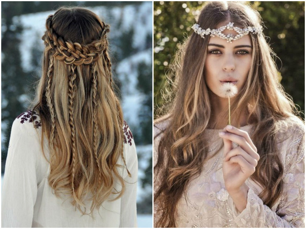 Well Known Boho Medium Hairstyles Throughout Women Hairstyle : Cute Boho Hairstyles For Short Long Medium Length (View 2 of 20)