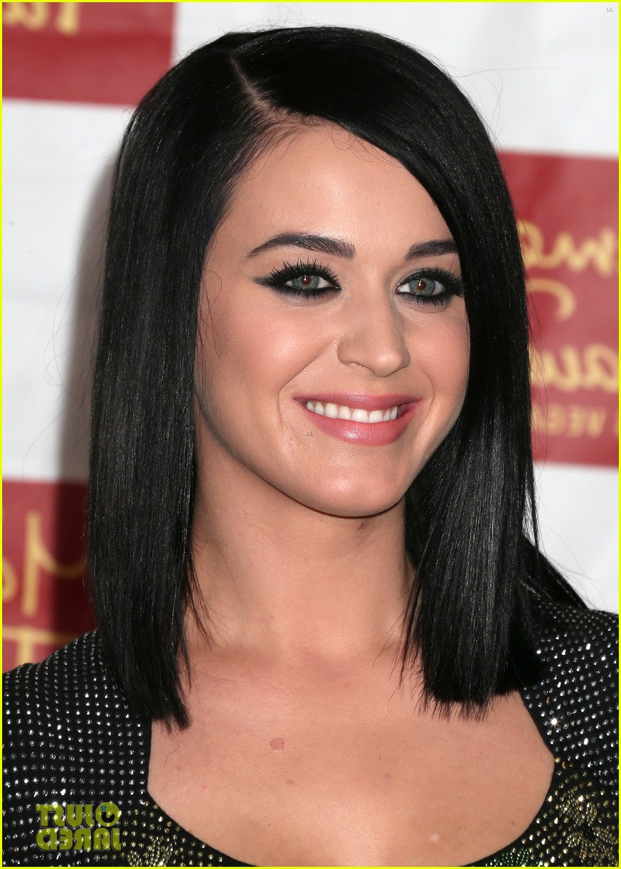 Well Known Katy Perry Medium Hairstyles Within Katy Perry Unveils Wax Figure At Madame Tussauds: Photo (View 9 of 20)