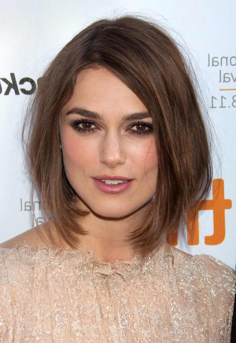 Well Known Keira Knightley Medium Haircuts Inside 15 Of The Best Hairstyles For Medium Length Straight Hair – The (View 18 of 20)