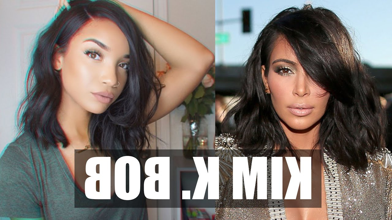 Well Known Kim Kardashian Medium Hairstyles Throughout Hair (View 18 of 20)