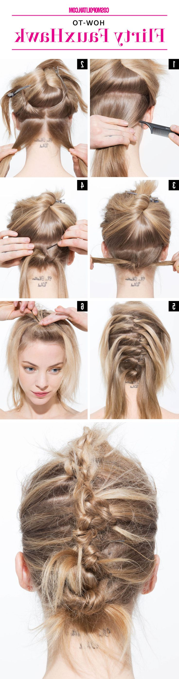 Well Known Lobster Tail Faux Hawk Hairstyles In 261 Best Hair Images On Pinterest (View 18 of 20)