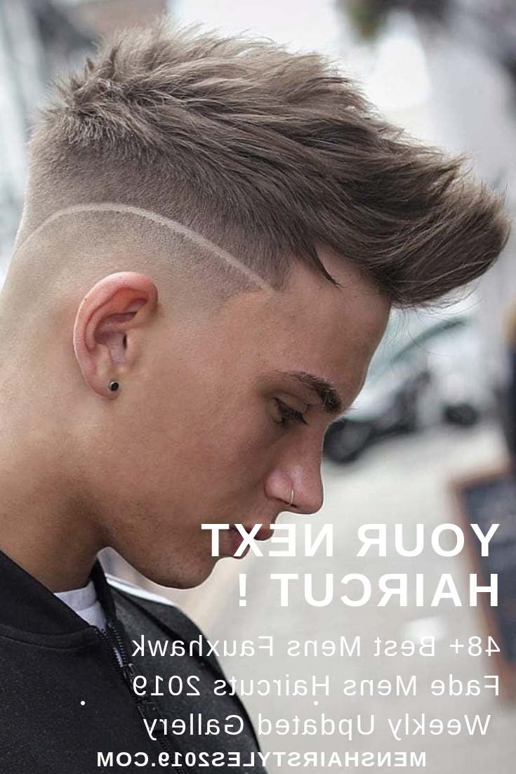Well Known Lobster Tail Faux Hawk Hairstyles Within Your Next Haircut ! 48+ Best Fauxhawk Fade Mens Hairstyles 2019 + (View 19 of 20)