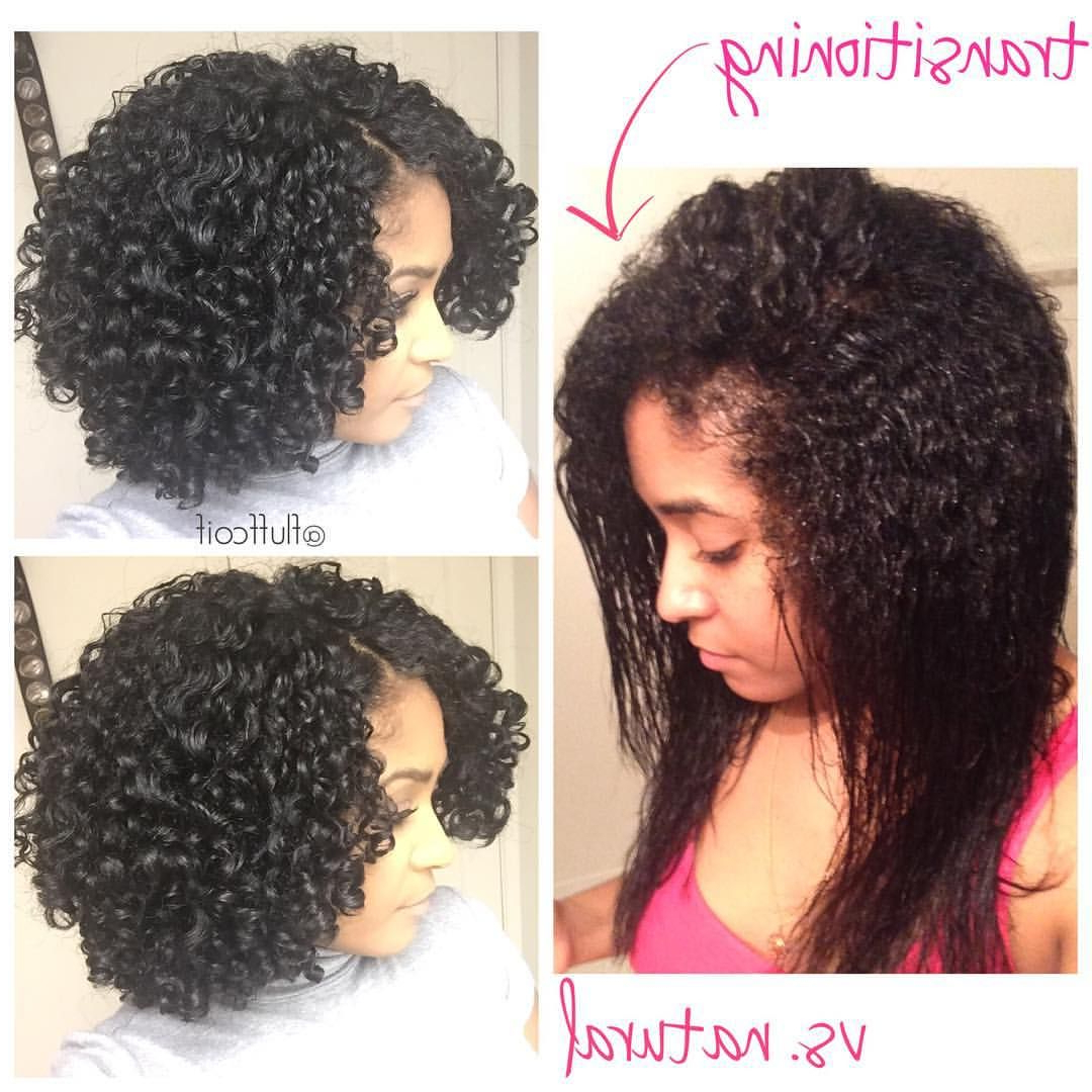 Well Known Medium Haircuts For Transitioning Hair Pertaining To Transitioning Wash And Go Versus A Fully Natural Wash And Go (View 20 of 20)