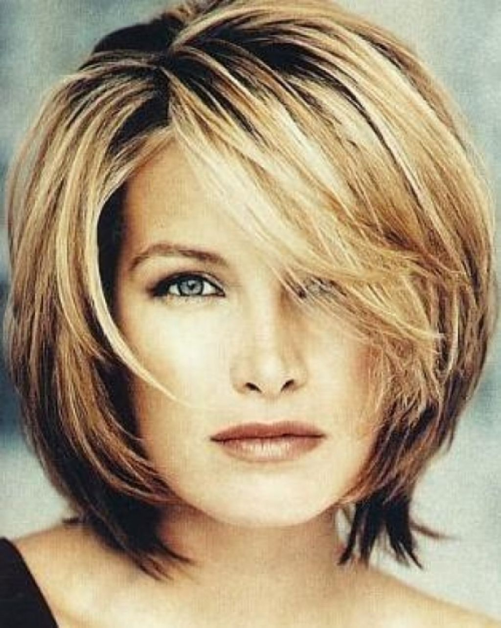 Well Known Medium Haircuts For Women Over 40 Inside Medium Hairstyles For Women Over 40 : Medium Length Hairstyles (View 17 of 20)
