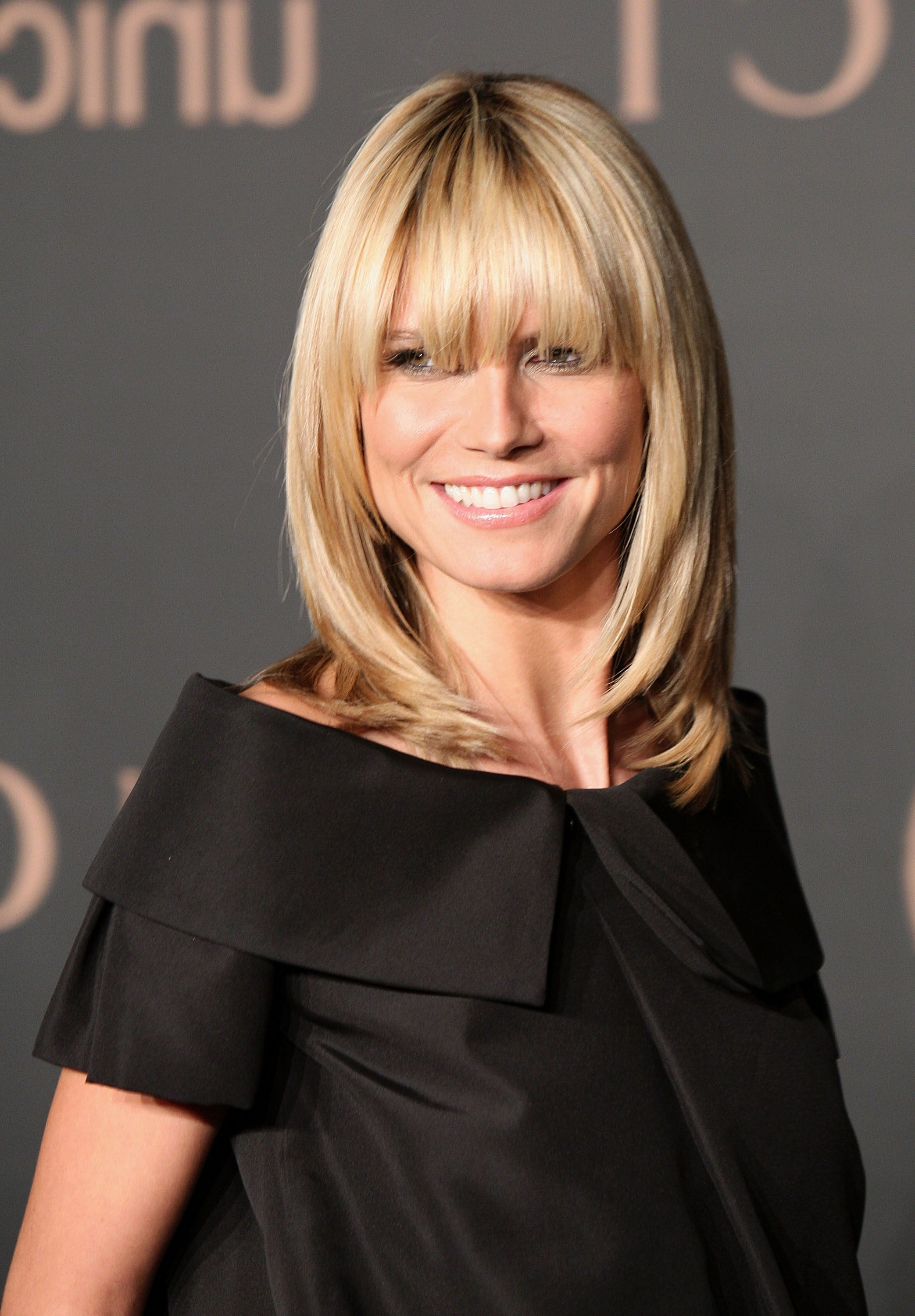 Well Known Medium Haircuts With Fringe For 35 Best Hairstyles With Bangs – Photos Of Celebrity Haircuts With Bangs (View 19 of 20)