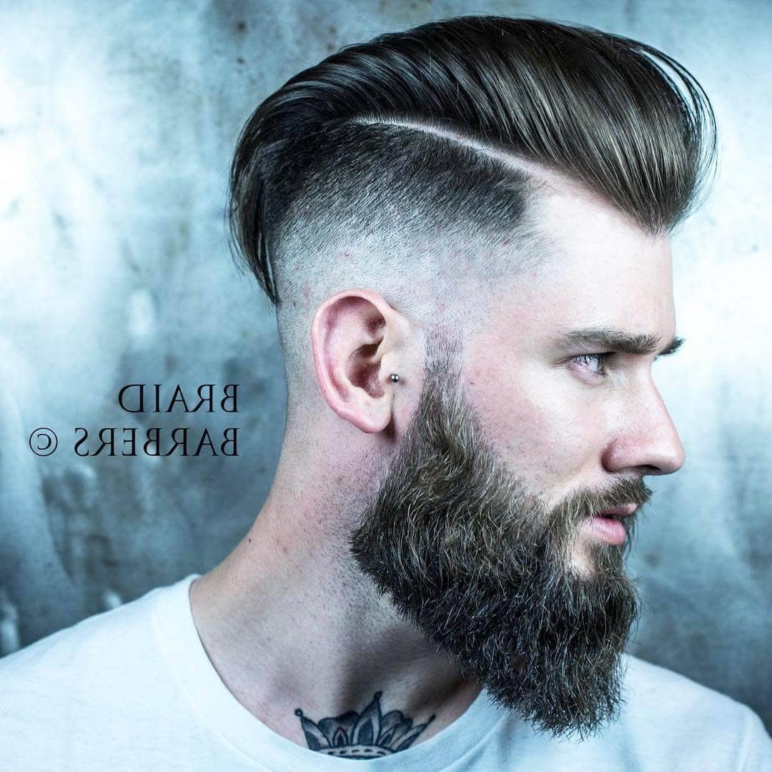Well Known Medium Hairstyles One Side Shaved Pertaining To 50 Trendy Undercut Hair Ideas For Men To Try Out (View 17 of 20)