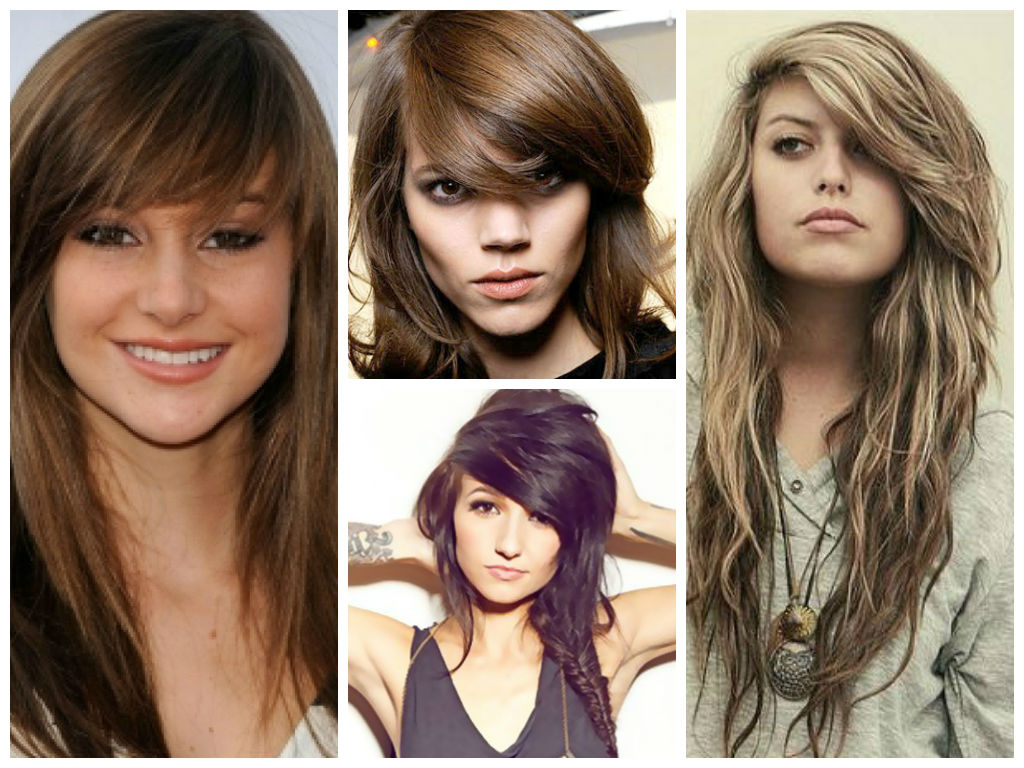 Well Known Medium Hairstyles With Side Swept Bangs And Layers For The Best Layered Bangs Hairstyles – Hair World Magazine (View 12 of 20)