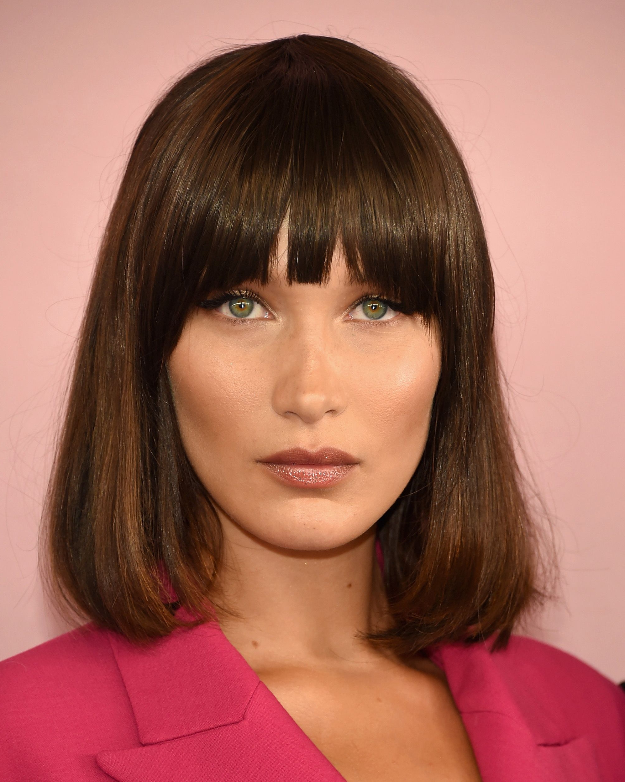 2021 latest medium hairstyles with side swept bangs and layers