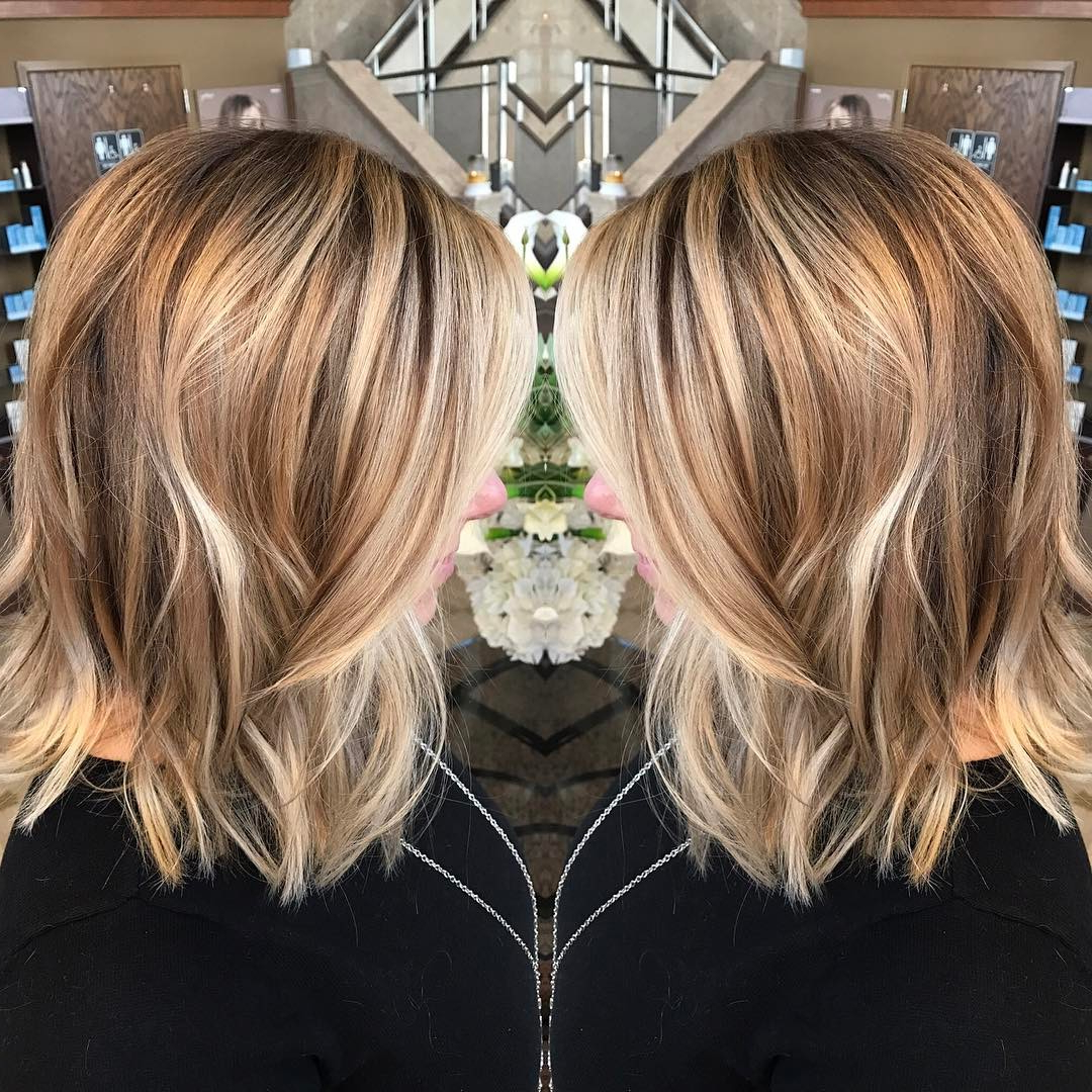 Well Known Shoulder Length Haircuts With Flicked Ends In 30 Chic Everyday Hairstyles For Shoulder Length Hair (View 4 of 20)