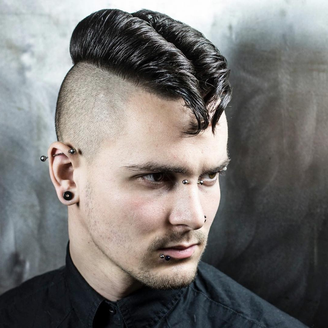 Well Known The Faux Hawk Mohawk Hairstyles Inside 55 Spectacular Faux Hawk Fade Ideas – The Ways To Rock Your Hair (View 17 of 20)