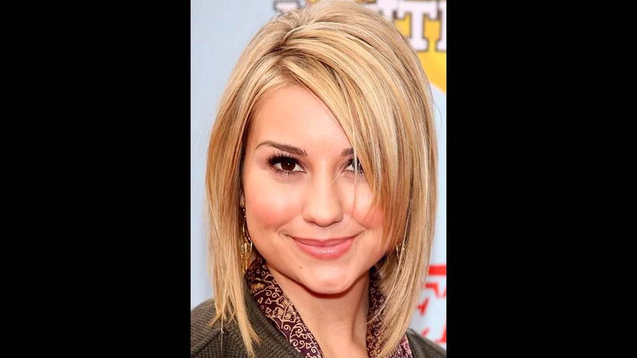 Well Known Womens Medium Haircuts For Round Faces With Medium Hairstyles For A Round Face – Youtube (View 19 of 20)