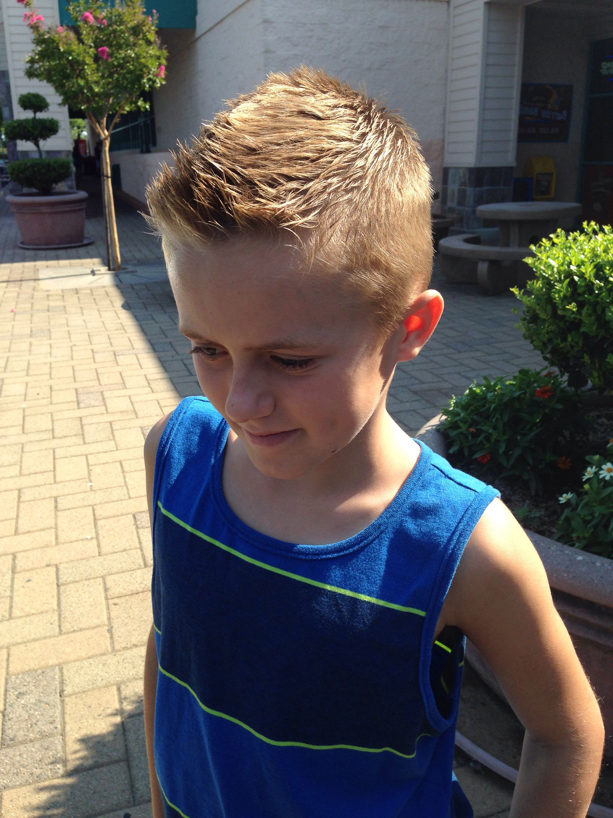 Well Liked Amber Waves Of Faux Hawk Hairstyles With Boys Front Faux Hawk (View 14 of 20)