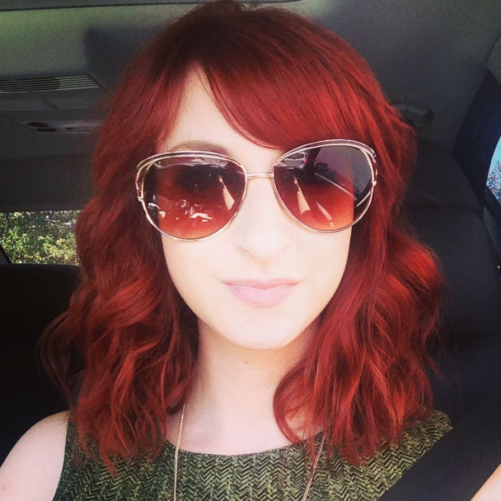Well Liked Bright Red Medium Hairstyles Intended For Red Hair Bright Red Hair Medium Length Hairstyles Pinterest (View 20 of 20)