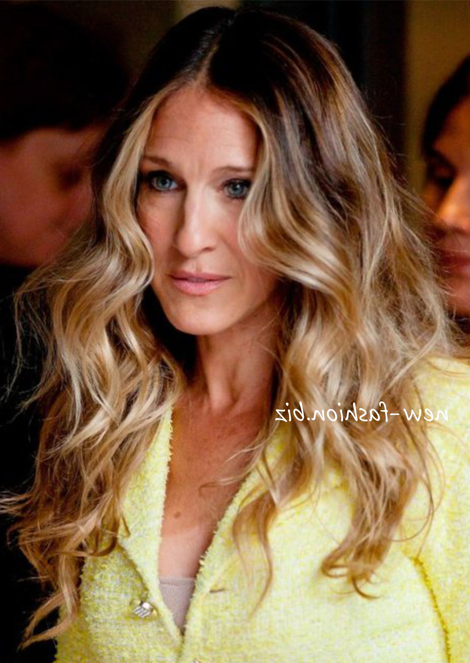 Well Liked Carrie Bradshaw Medium Hairstyles Regarding Sarah Jessica Parker Hair (View 7 of 20)