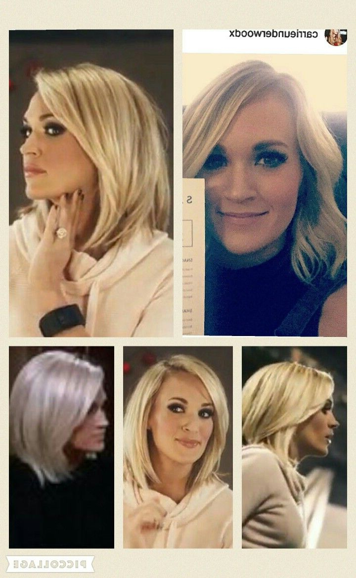 Featured Photo of Carrie Underwood Medium Haircuts