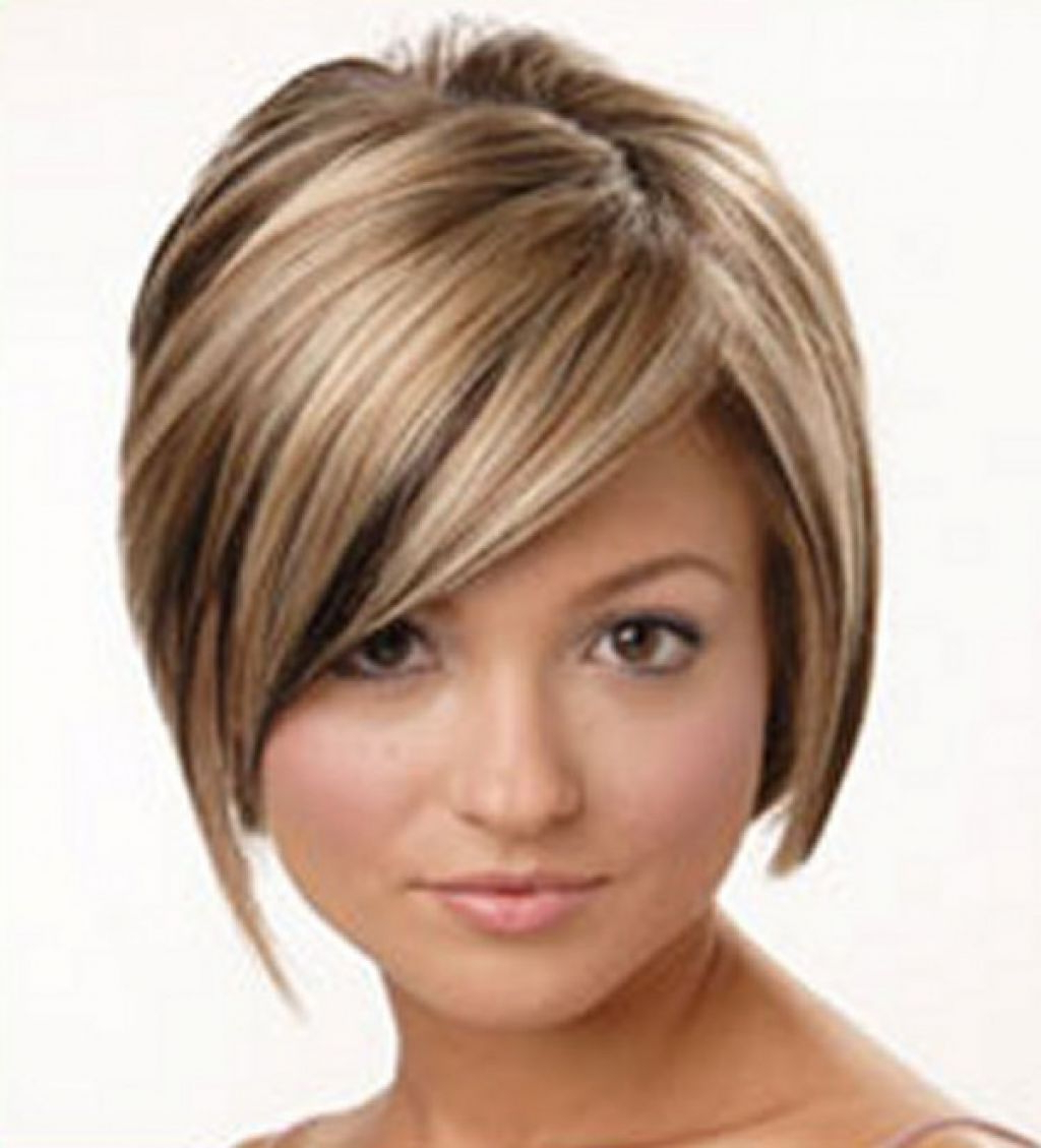 Well Liked Edgy Medium Hairstyles For Round Faces Pertaining To Stylish Edgy Short Haircuts – Women Medium Haircuts : Women Medium (View 16 of 20)
