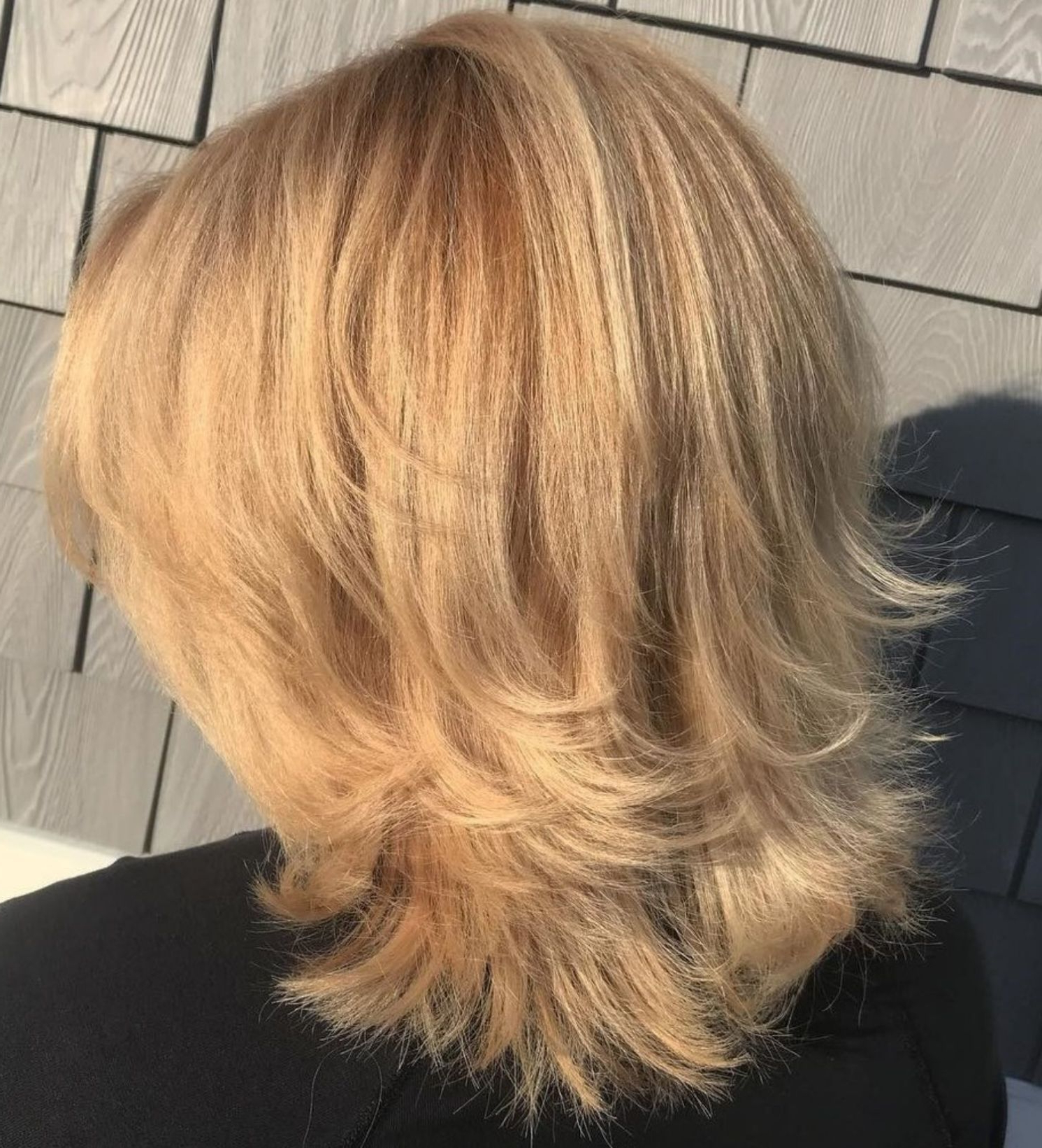 Well Liked Flipped Medium Hairstyles Within 50 Best Variations Of A Medium Shag Haircut For Your Distinctive (View 18 of 20)