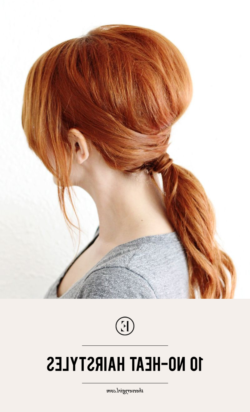 Well Liked Heat Free Layered Hairstyles Inside 10 No Heat Hairstyles – The Everygirl (View 19 of 20)