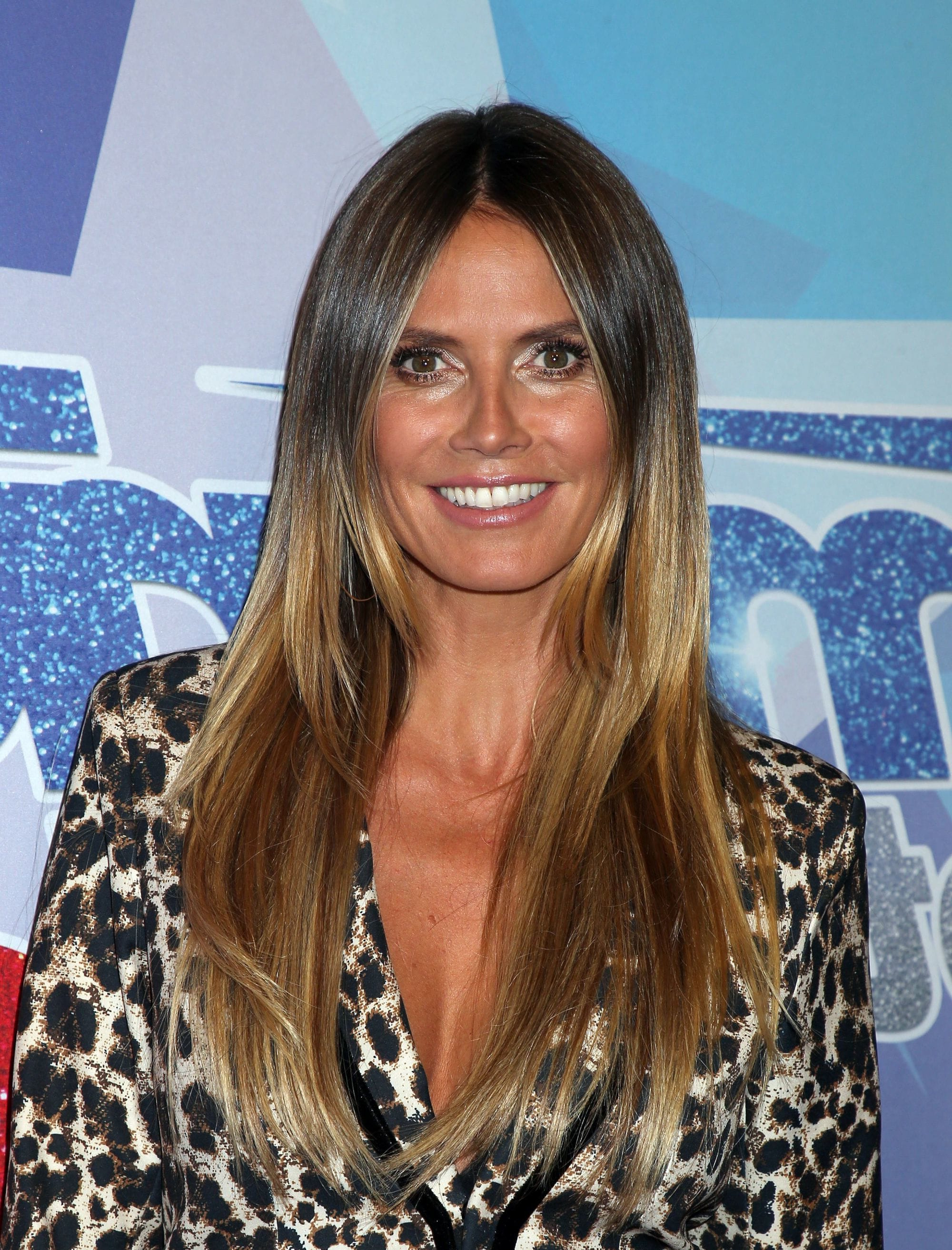 Well Liked Heidi Klum Medium Haircuts Intended For 8 Celeb Styles That Prove Balayage Straight Hair Is Always A Good (View 16 of 20)
