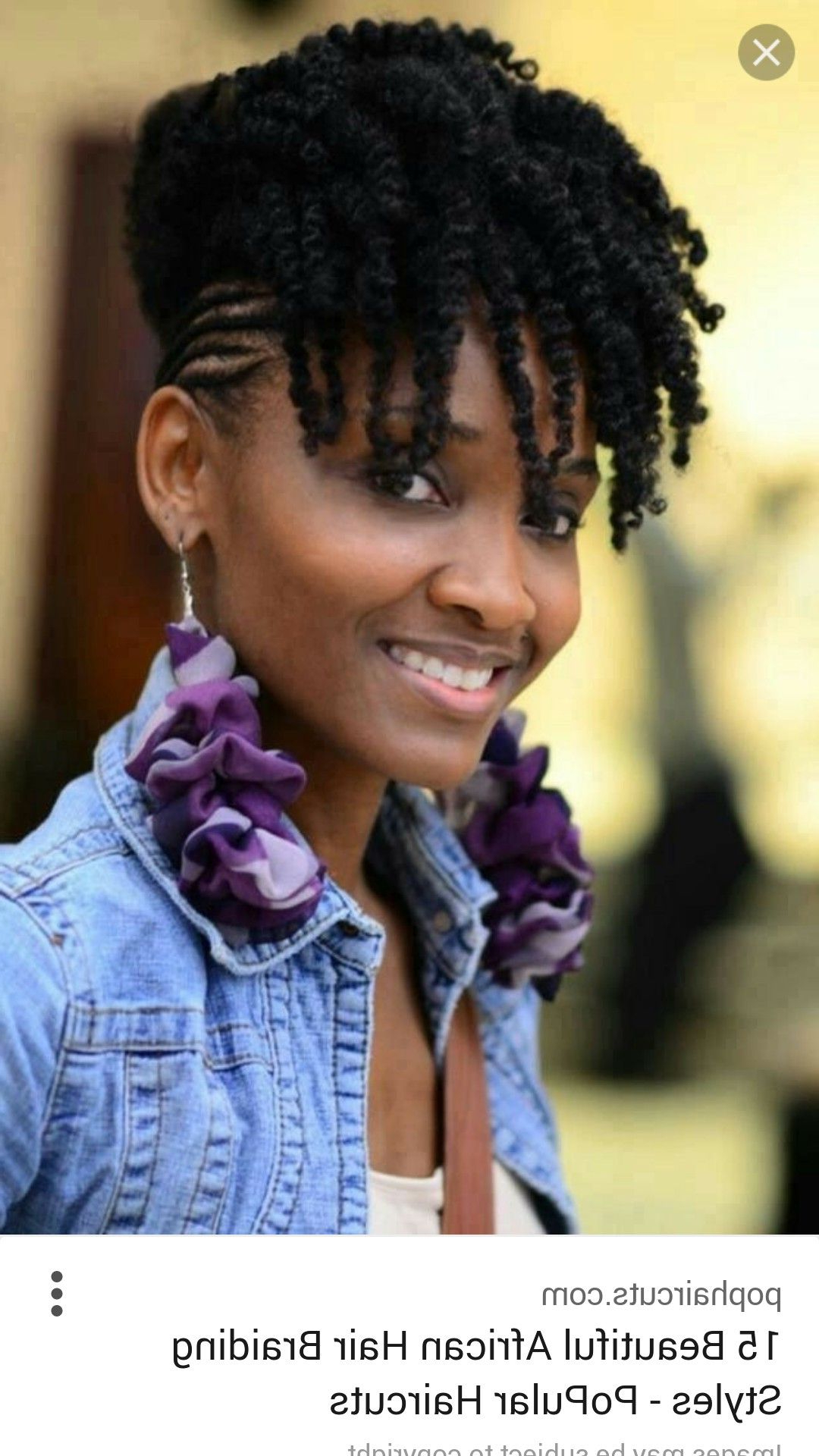 Well Liked Lavender Braided Mohawk Hairstyles In Pincharlisa Carter On Hair In (View 20 of 20)