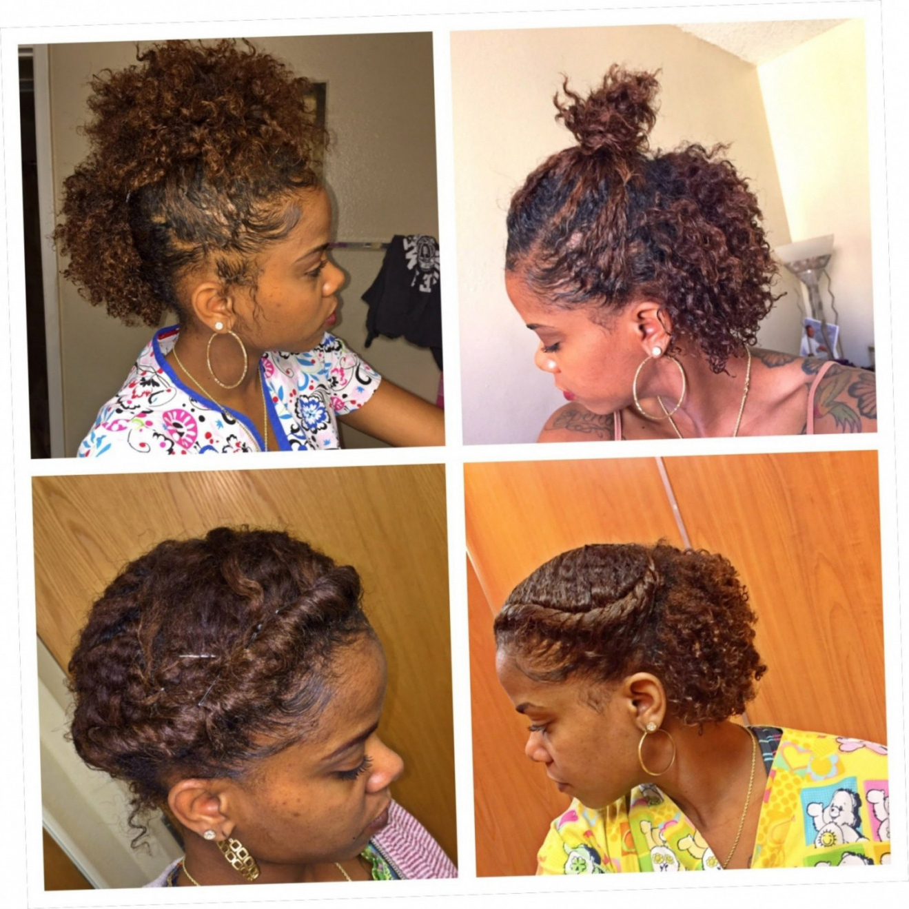 Well Liked Medium Haircuts For Natural African American Hair Regarding African American Natural Hairstyles For Medium Length Hair (View 18 of 20)