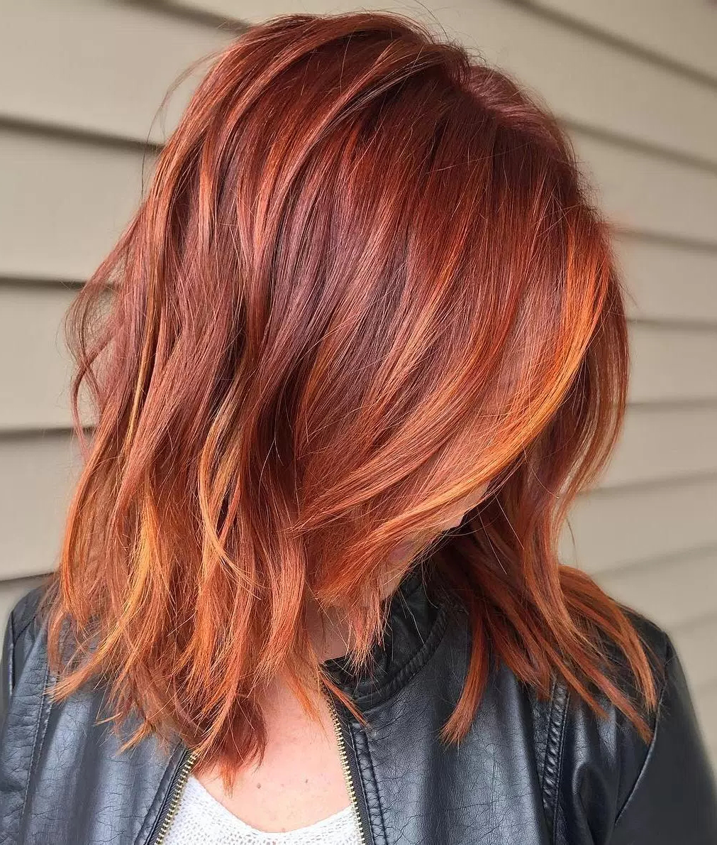 Well Liked Medium Haircuts With Fiery Ombre Layers Pertaining To 70 Fine Hair Bob Cuts – Page 19 Of 70 – Fallbrook (View 19 of 20)