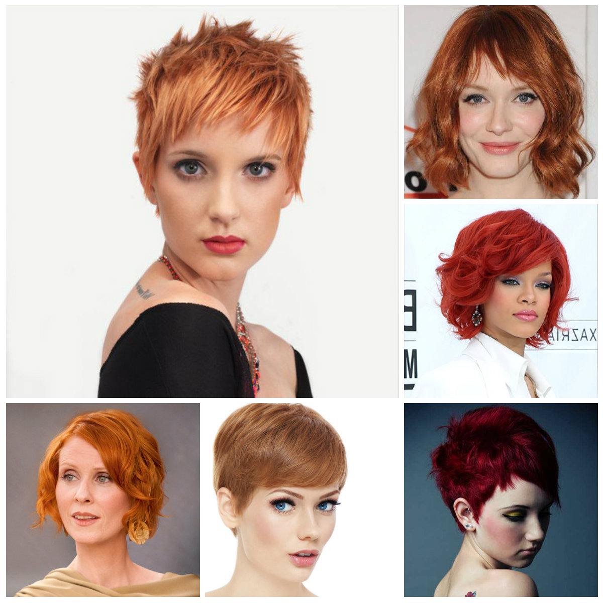 Well Liked Medium Hairstyles And Colors Regarding Short Red Hairstyle Inspiration For (View 20 of 20)