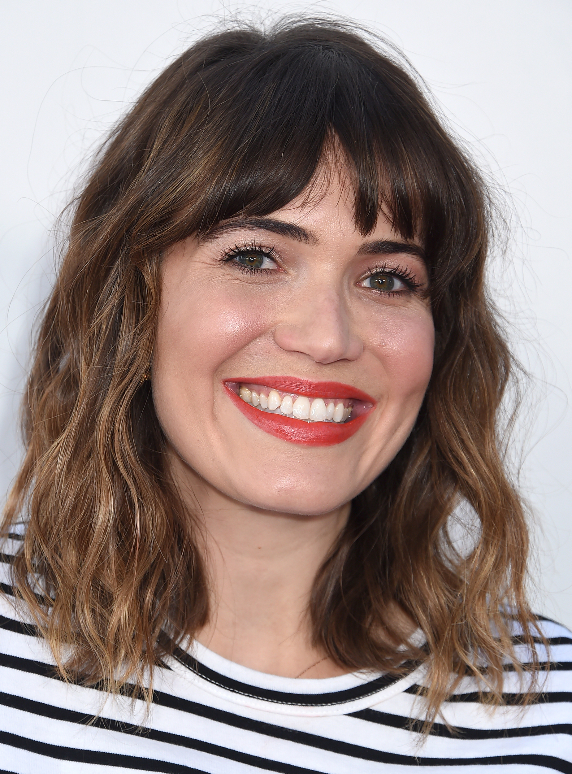 Well Liked Medium Hairstyles With Bangs For Round Faces Throughout 28 Best Hairstyles For Round Faces (View 19 of 20)